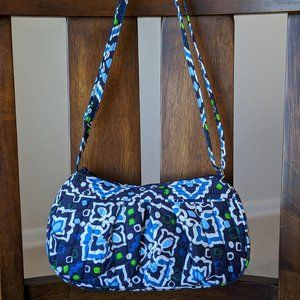 Vera Bradley Ink Blue Frannie Crossbody